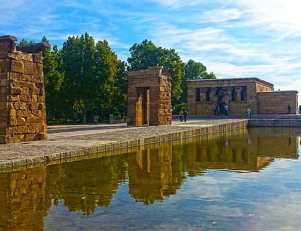 Temple Shrine Milan Egyptian Archeology Italy Civi