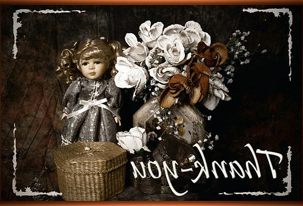 Thank You Ta Salutation Doll Toy Greeting Composit