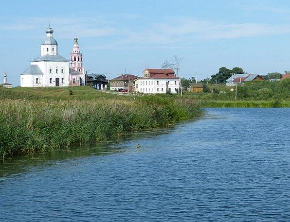 Church Ecclesiastical Suzdal Russia Russian Orthod