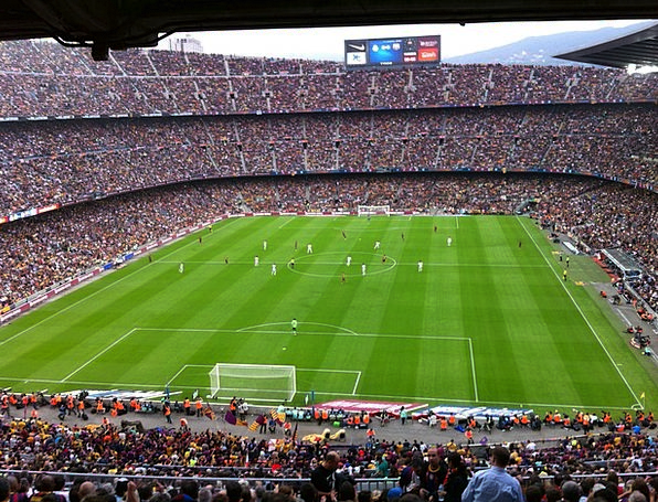 Estadio Barcelona Camp Nou Fc Barcelona Real Madri