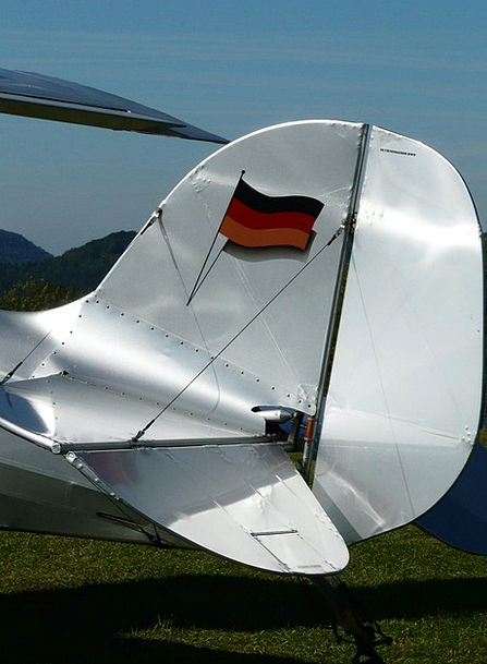 M17 Airplane Aerobatics Stunts Aircraft Germany Ta