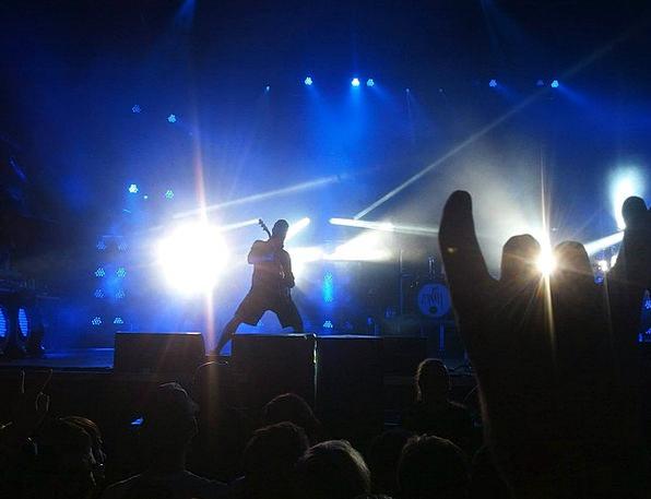 Concert Performance Pillar Music Melody Rock Mood