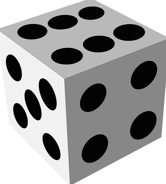 Dice Gamble Wager Cube Casino Game Of Luck Die Gam