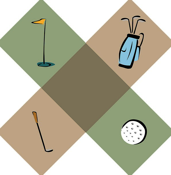 Golf Ciphers Golfing Symbols Pictogram Hole Fleaba