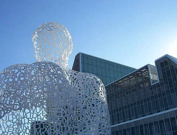 Contemporary Art Buildings Statue Architecture Exh