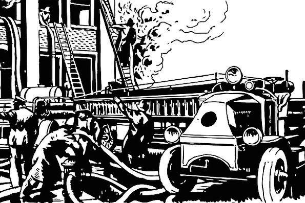 Fire Passion Traffic Train Transportation Truck Ca