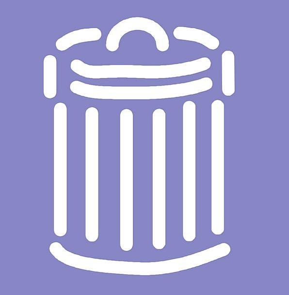 Trashcan Wastebasket Litter Disorder Litterbasket