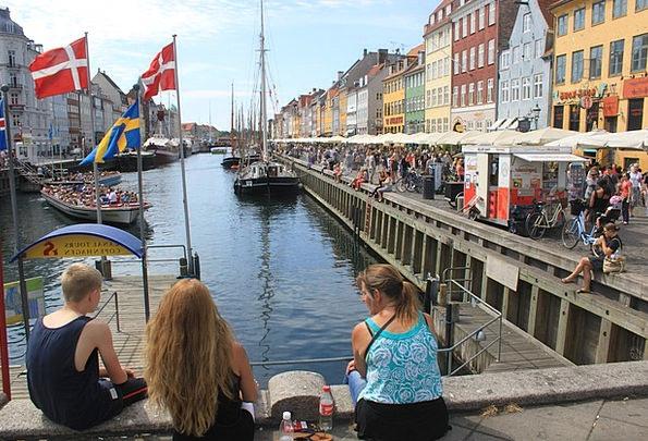 Denmark Buildings Architecture City Urban Copenhag