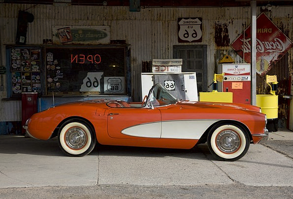Corvette Adaptable Vintage Out-of-date Convertible