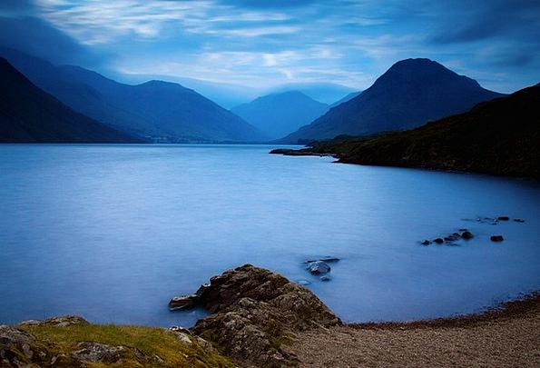 Cloud Mist Landscapes Nature Lake District Cumbria