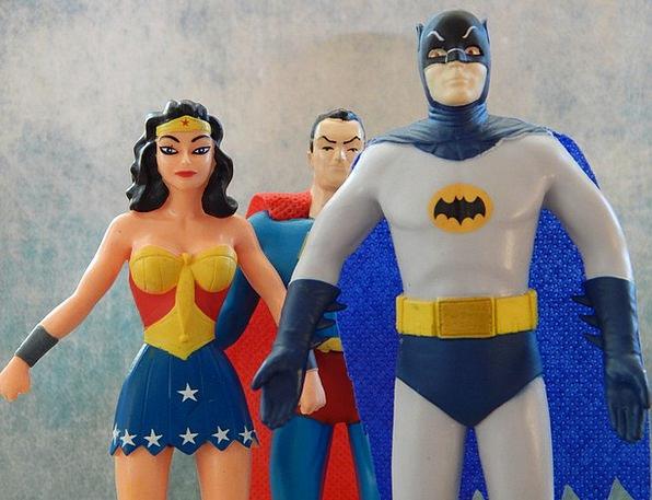 Superheroes Champions Wonder Woman Batman Caped Su