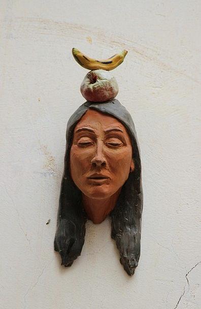 Indians Drink Skull Food Bust Broken Head Art Soun