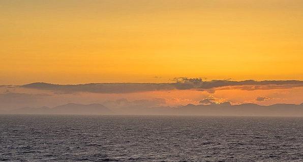 Sunset Sundown Vacation Marine Travel Canada Ocean