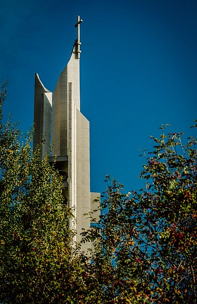 Tower Barbican Ecclesiastical Poland Church City U