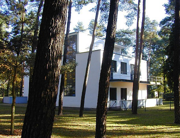 Bauhaus Buildings Architecture House Household Mas
