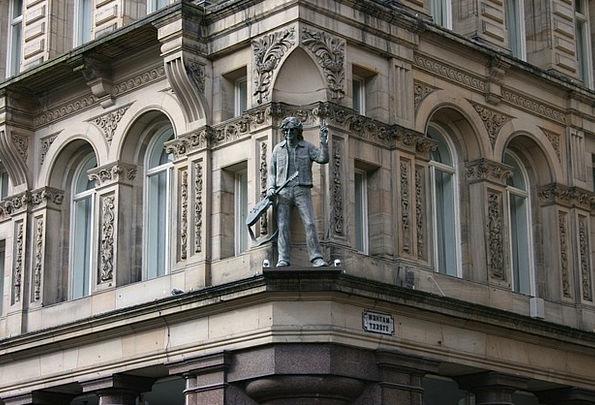 John Lennon Figurine Mathew Street Statue Liverpoo