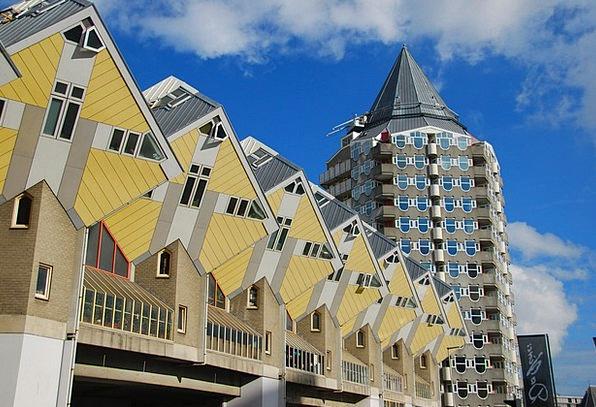 Rotterdam Buildings Architecture Architecture Buil