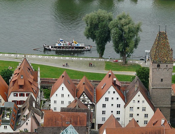 Ulm Vacation Travel Ulmer Schachtel Danube Old Tow