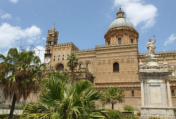 Cathedral Of Palermo Italy Sicily