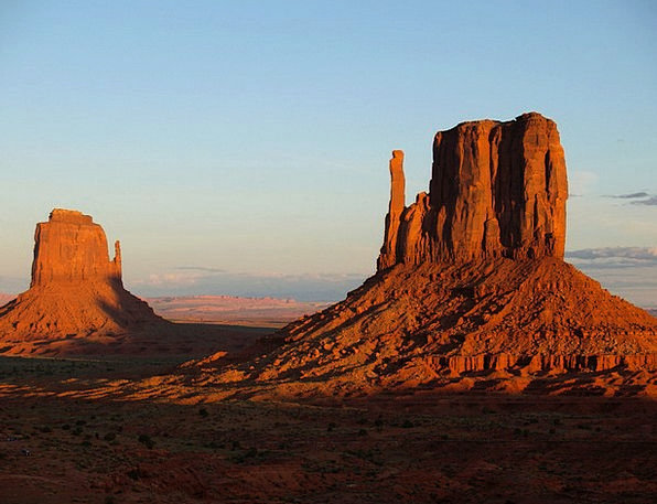 Monument Valley Landscapes Nature Usa Utah Red Blo
