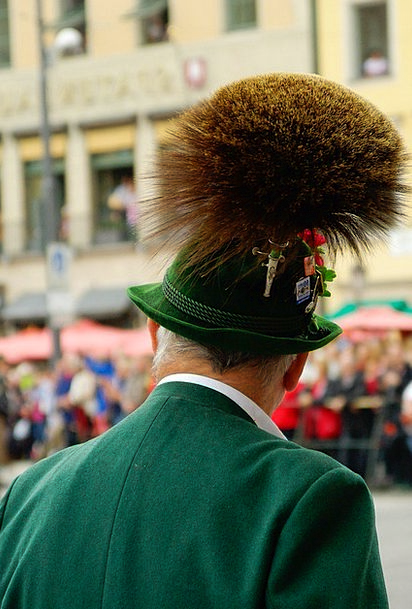Hat Cap Munich Bavaria Tradition Custom