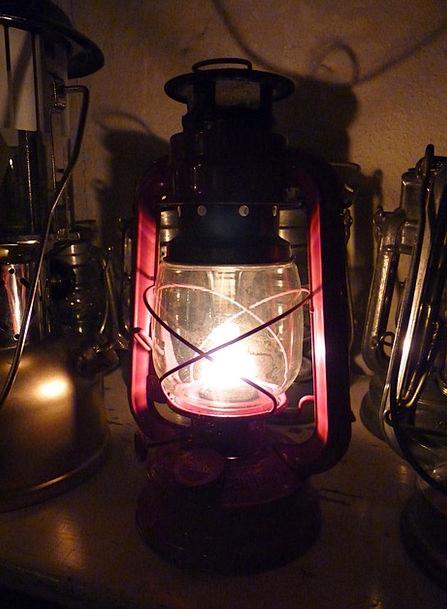 Oil Lamp Petroleum Fuel Lantern Lamp Uplighter Old