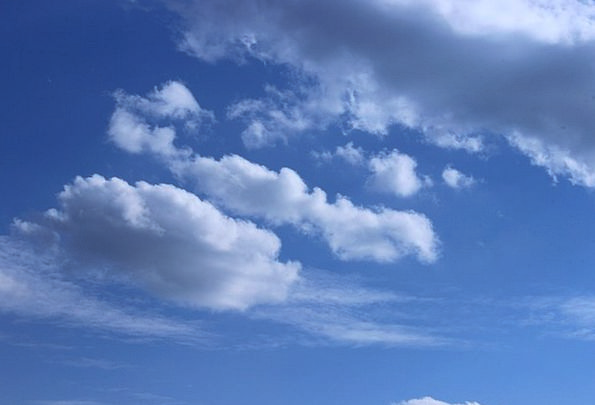Sky Landscapes Vapors Nature Summer Straw-hat Clou