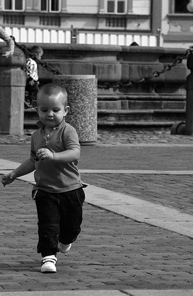 Child Youngster Road Reportage Coverage Street