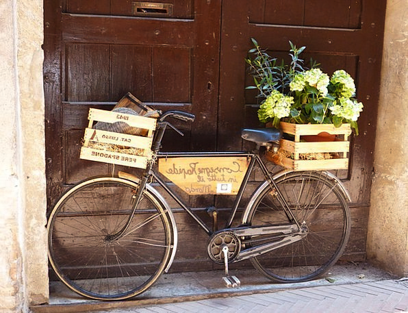 Bike Motorbike Ancient Italy Old In The Free Two W