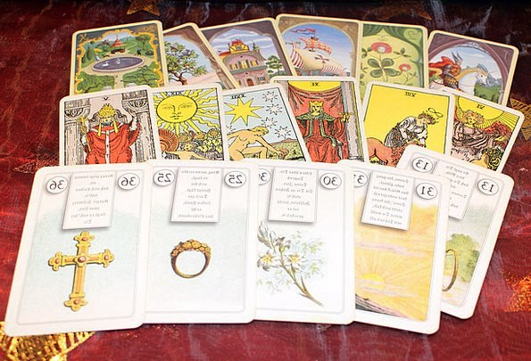 New Age Cards Postcards Fortune Telling Spiritual