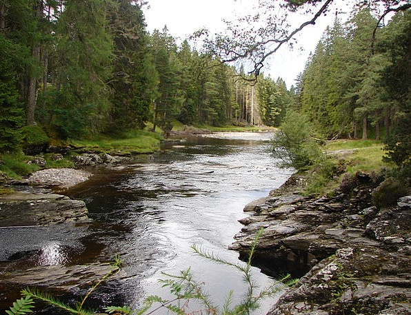 Dee Landscapes Nature River Stream Scotland Landsc