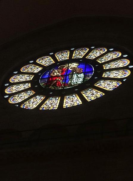 Stained Glass Switzerland Münster Basel Stunning C