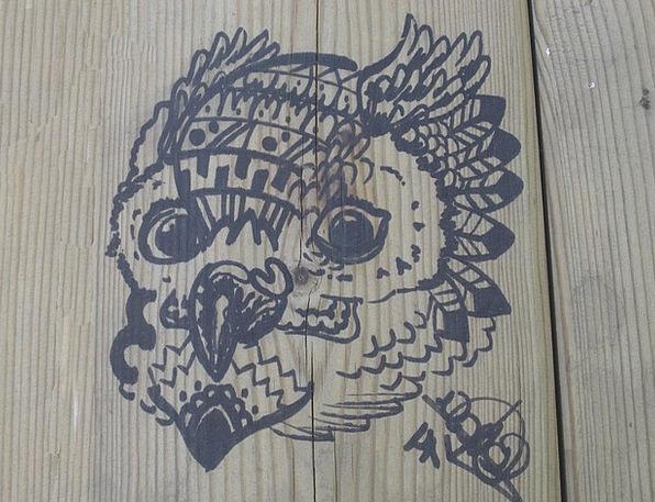 Buho Timber Drawing Sketch Wood