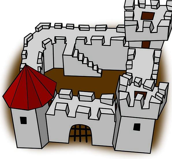 Castle Buildings Feudal Architecture Castles Fortr