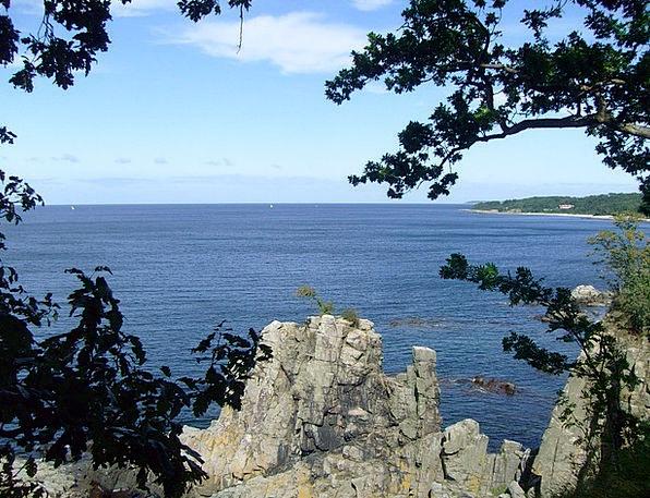 Coast Shore Baltic Sea Denmark
