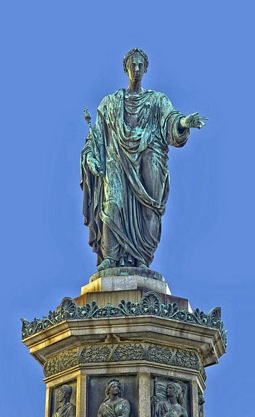 Emperor Francis Ii Austria Vienna Statue Figurine