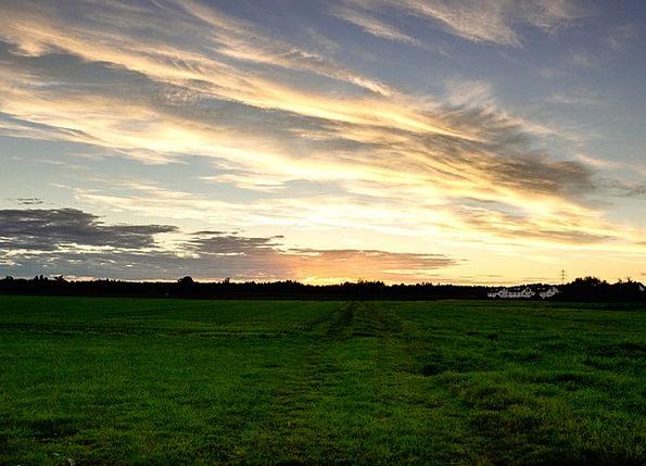 Sonnentuntergang Landscapes Arena Nature Sun Field