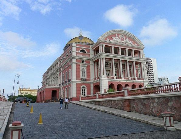 Manaus Theatre Of Rubber Brazil