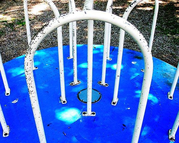 Playground Park Ancient Scrap Argument Old Equipme