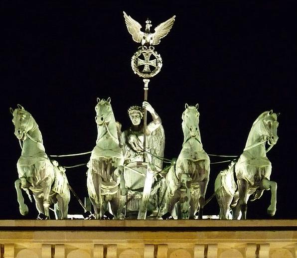 Berlin Monuments Places Brandenburg Gate Quadriga