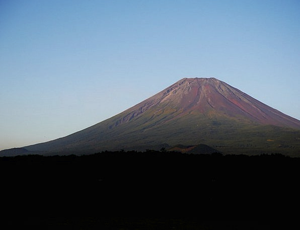 Mt Fuji Vacation Travel Sunset Sundown Summer Of M