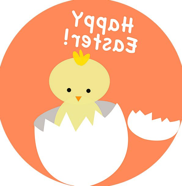 Easter Chicken Hatching Shading Chick Hatch Trapdo