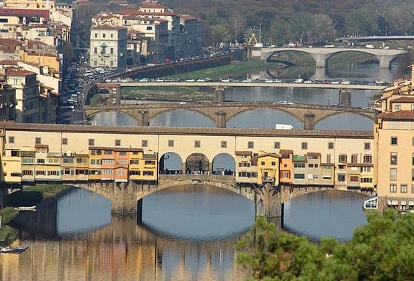 florence landscapes nature landscape scenery ponte vecchio