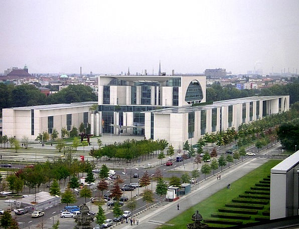 Federal Chancellery Government District Office Com