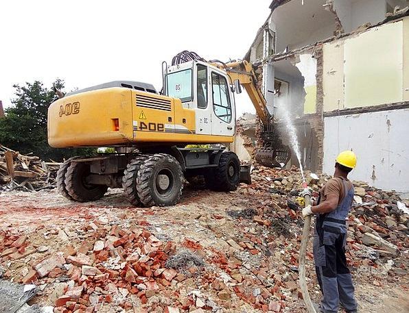 House Demolitions Excavators Diggers House Demolit