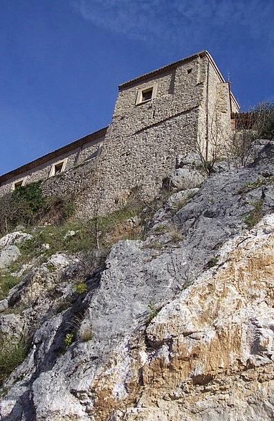 Castle Fortress Rocca Torre Rock Pillar