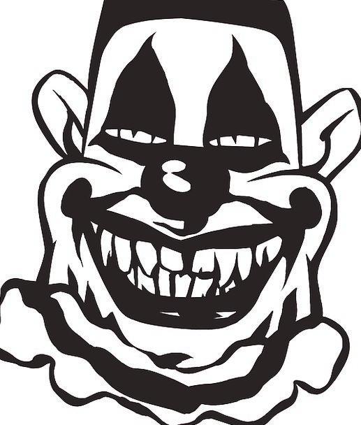 Clown Joker Eerie Entertainment Entertaining Creep