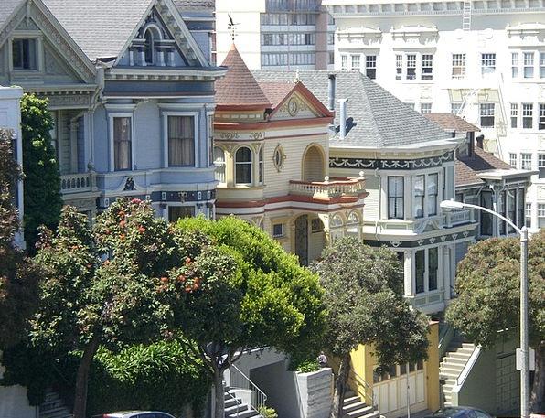 Victorian House San Francisco Painted Ladies Calif