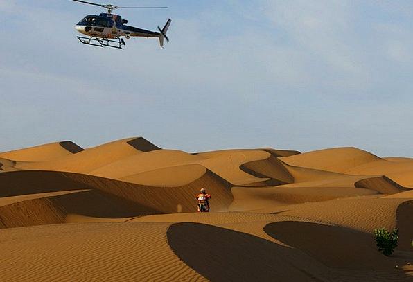 Dakar Rally Reward Sahara Desert Motocross Helicop