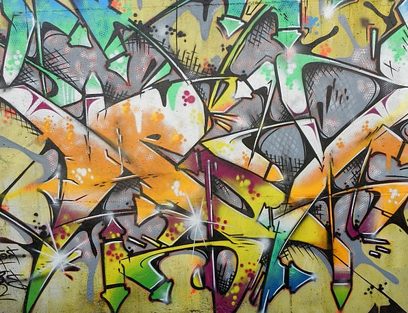 Graffiti Drawings Interesting Color Hue Colorful A